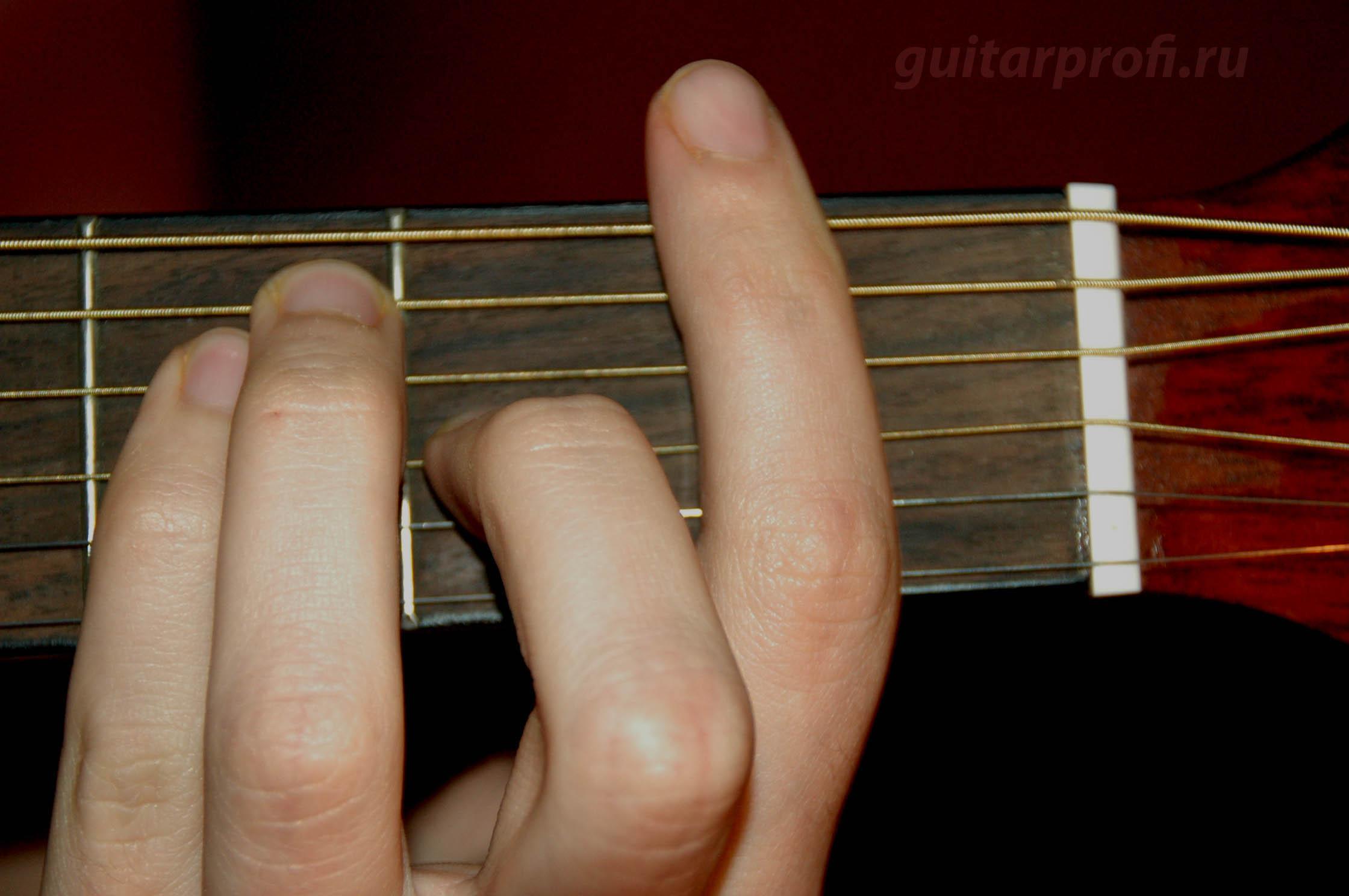 akkord-F-na-gitare