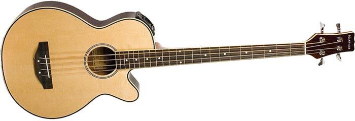 Как сделать из акустический гитары бас гитару