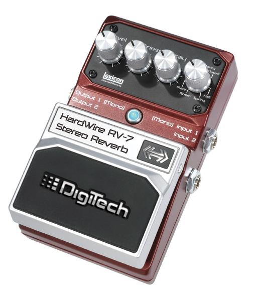 Digitech Hardware RV-7 Stereo Reverb