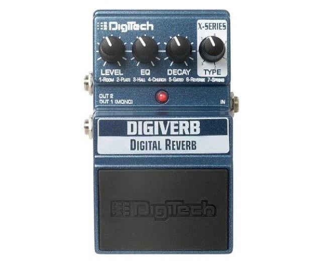Digitech XDV Digiverb Digital Reverb