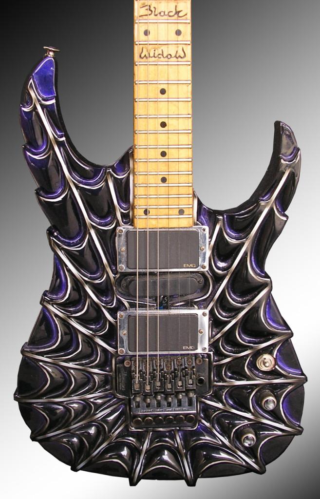 Необычный дизайн гитар 1