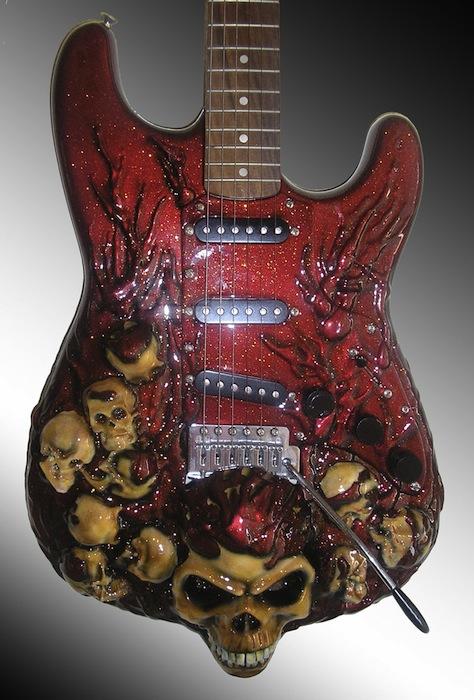 Необычный дизайн гитар 2