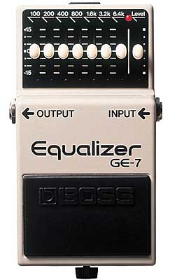 equalizer Boss GE7