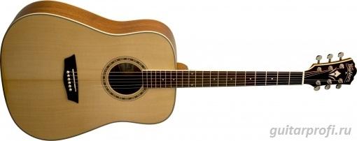 акустическая гитара washburn wd10ns