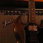 Фон от гитары