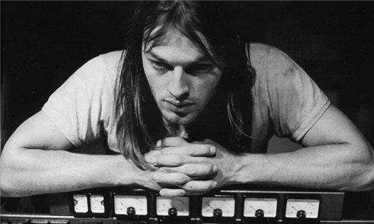 молодой гитарист Дэвид Гилмор