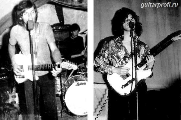 Дэвид Гилмор и его Fender Telecaster