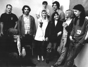 группы Nirvana и Sonic Youth