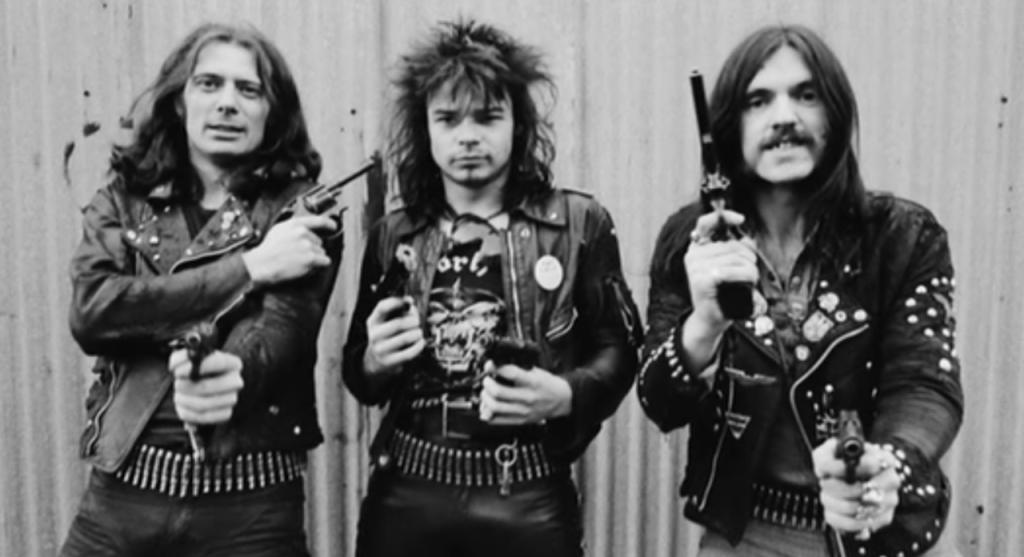 Ранний состав группы Motorhead