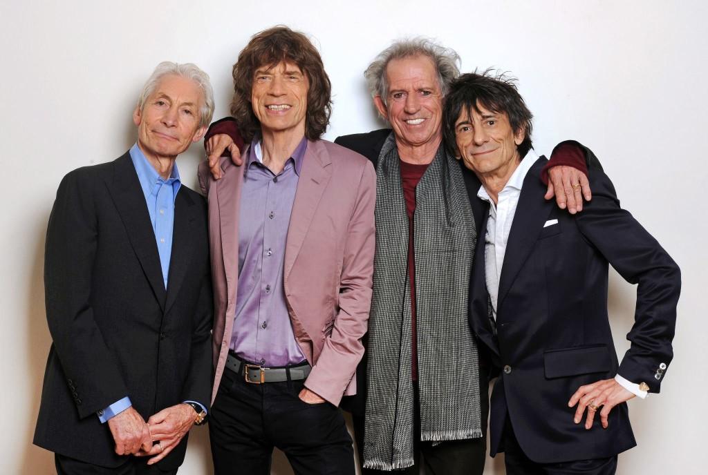 Группа The Rolling Stones 2014 год