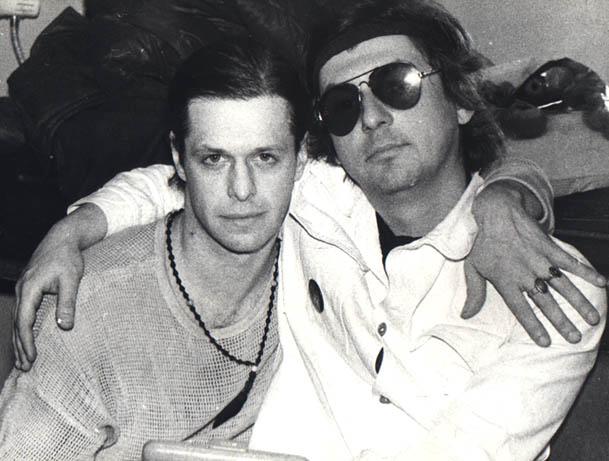 Борис Гребенщиков и Майк Науменко