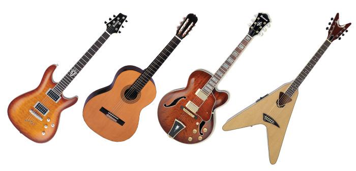 На какой гитаре учиться играть