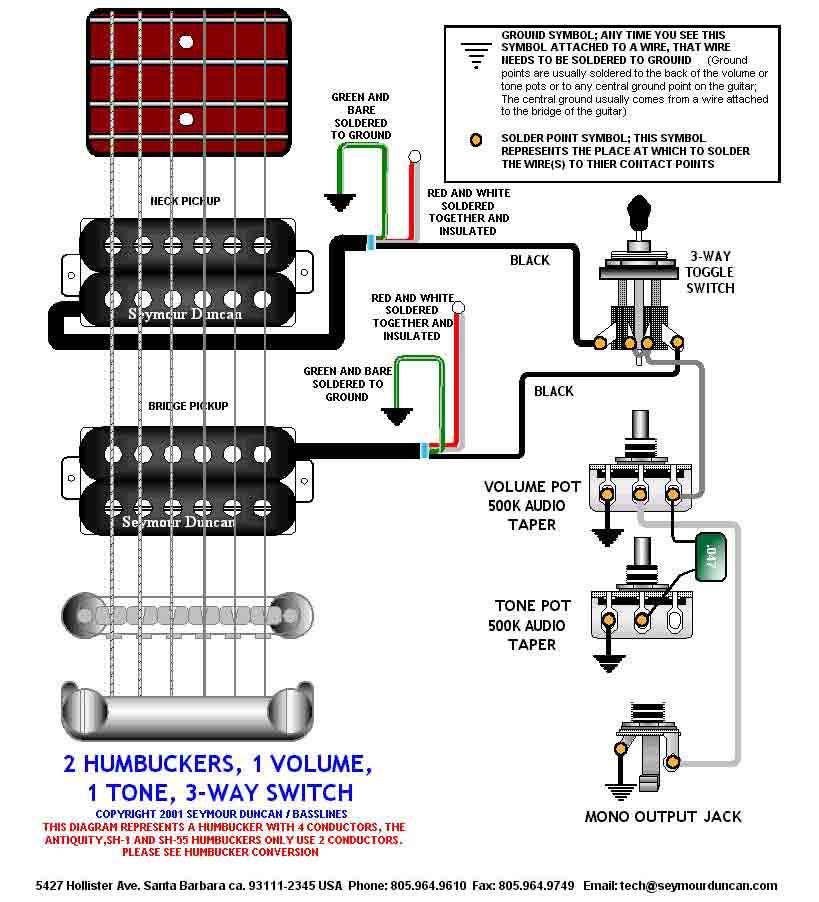 Распайка пассивного темброблока электрогитары