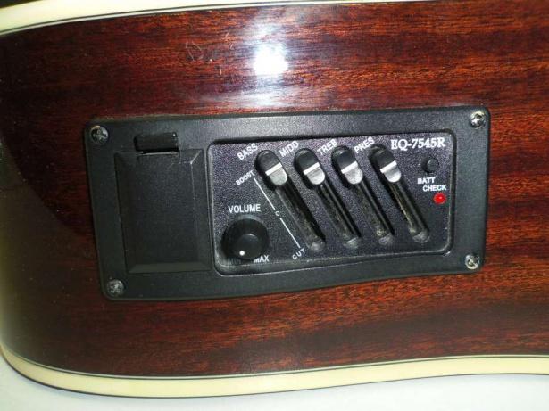Темброблок для акустической гитары
