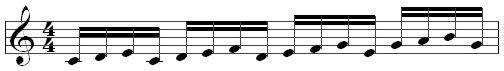 Пример секвенции