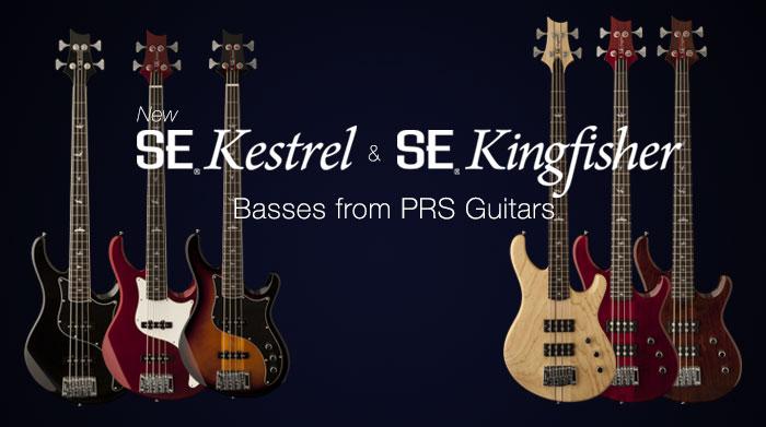 Бас гитары PRS серий kingfisher и kestrel