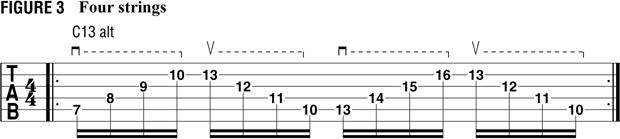 пример 2 для тренировки свипа на гитаре