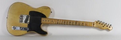 электрогитара Fender Esquire 1954 года