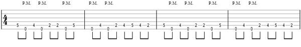 упражнение 10 на глушение струн