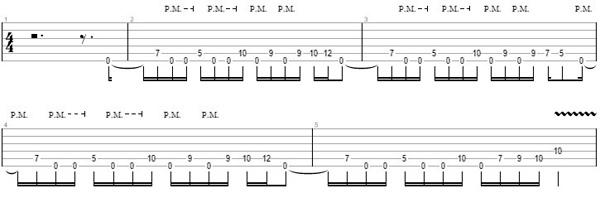 упражнение 11 на глушение струн