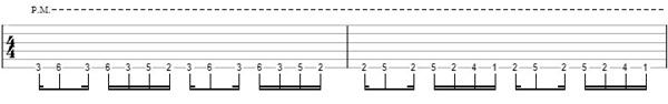 упражнение 8 на глушение струн