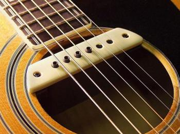 виды звукоснимателей для акустической гитары