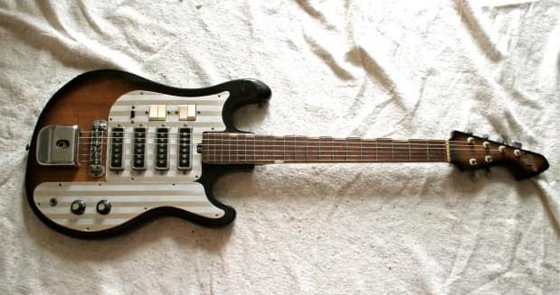 гитара 1960s Teisco Del Ray WG-4L