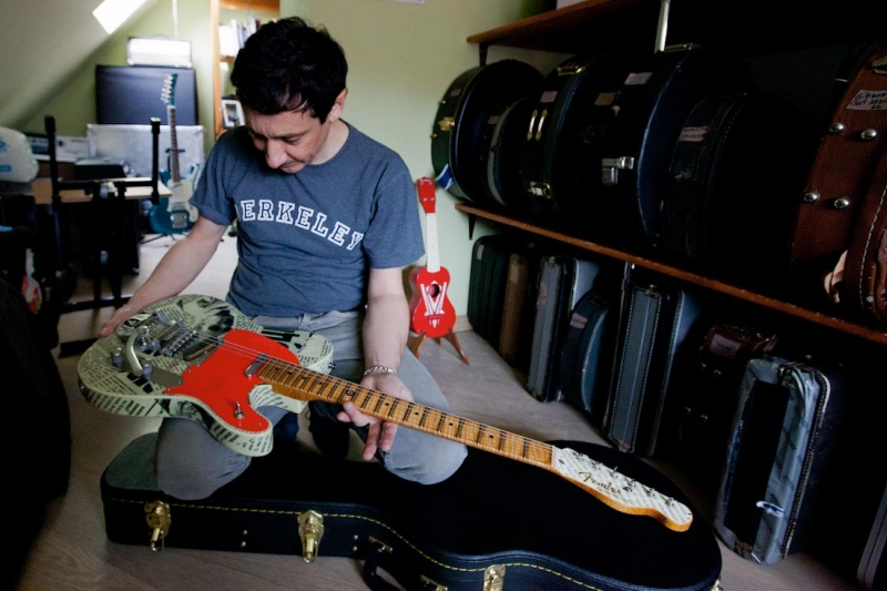 Именная гитара Евгения Хавтана
