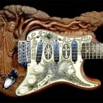Необычный дизайн гитар